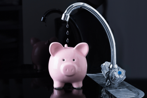 When you have a leaky faucet, that's literally money down the drain.