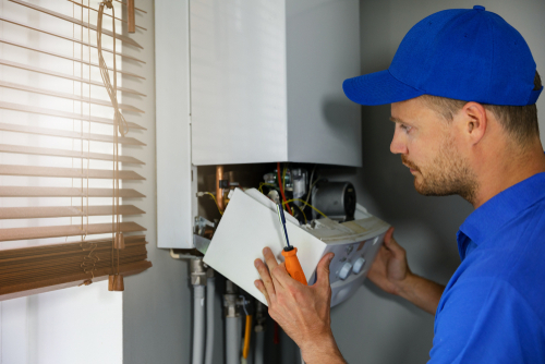 Compared to electric water heaters, the gas variety is more complex to install.