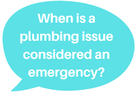 There are plumbing problems classified as an emergency situation, thus needing the services of an emergency plumber.